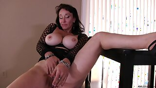Membrane of dirty adult Make more attractive Sweet playing with her old cunt